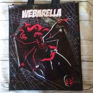 Comic Con Monster High Webarella Tote Bag